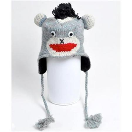 Animal Wool Hats Monkey - Monkey Hats