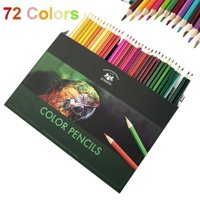 72/160pcs Color Colored Pencils Vibrant Sketch Painting Drawing Pre-sharpened Art Tools
