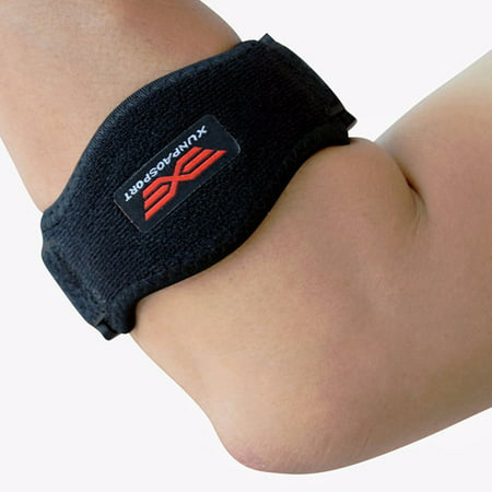 Tennis Golfer Elbow Strap Epicondylitis Wrap Support Compression Brace Strap Band Forearm Protection Pad & Arm Elbow Shoulder Padded Sling Brace Support Pain Injury Arthritis Elbow Wrap Usa Model
