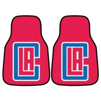 Los Angeles Clippers Carpeted Car Mats - Set of 2