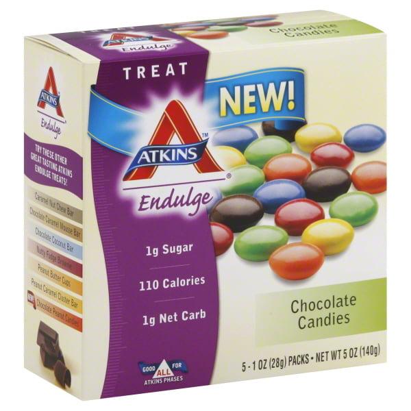 Atkins Endulge Chocolate Candies, 1 Oz, 5 Ct