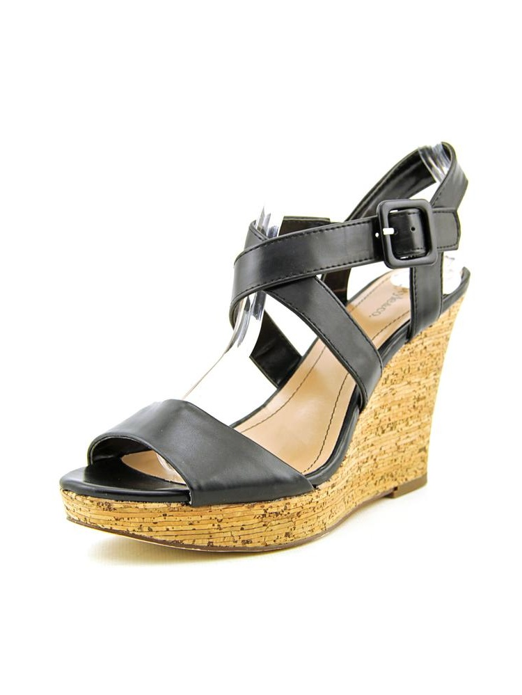 Style & Co Allexus   Open Toe Synthetic  Wedge Heel