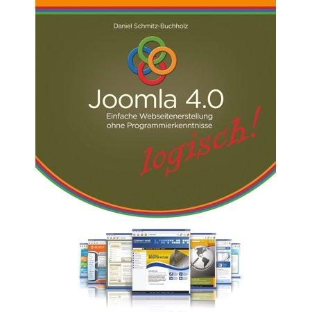 Joomla 4.0 logisch! - eBook