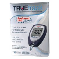 Truetrack Blood Glucose Monitoring System By Preffered Plus - 1 Kit