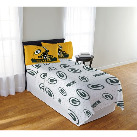 Green Bay Packers Cue Stick (NFL Green Bay Packers Queen Sheet Set, 1 Each )