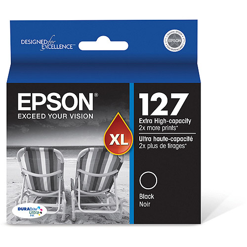 Epson 127 DuraBrite Ultra-Extra High-Capacity Black Ink Cartridge