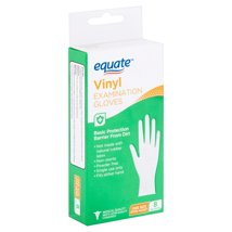 Disposable Gloves: Equate Vinyl Examination Gloves