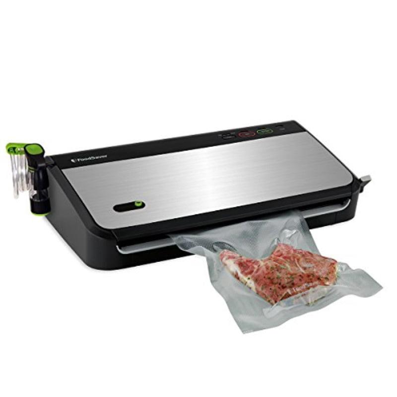 FoodSaver Vacuum Sealer FM24350ECR System with Bonus Handheld Sealer and Starter Kit, Silver