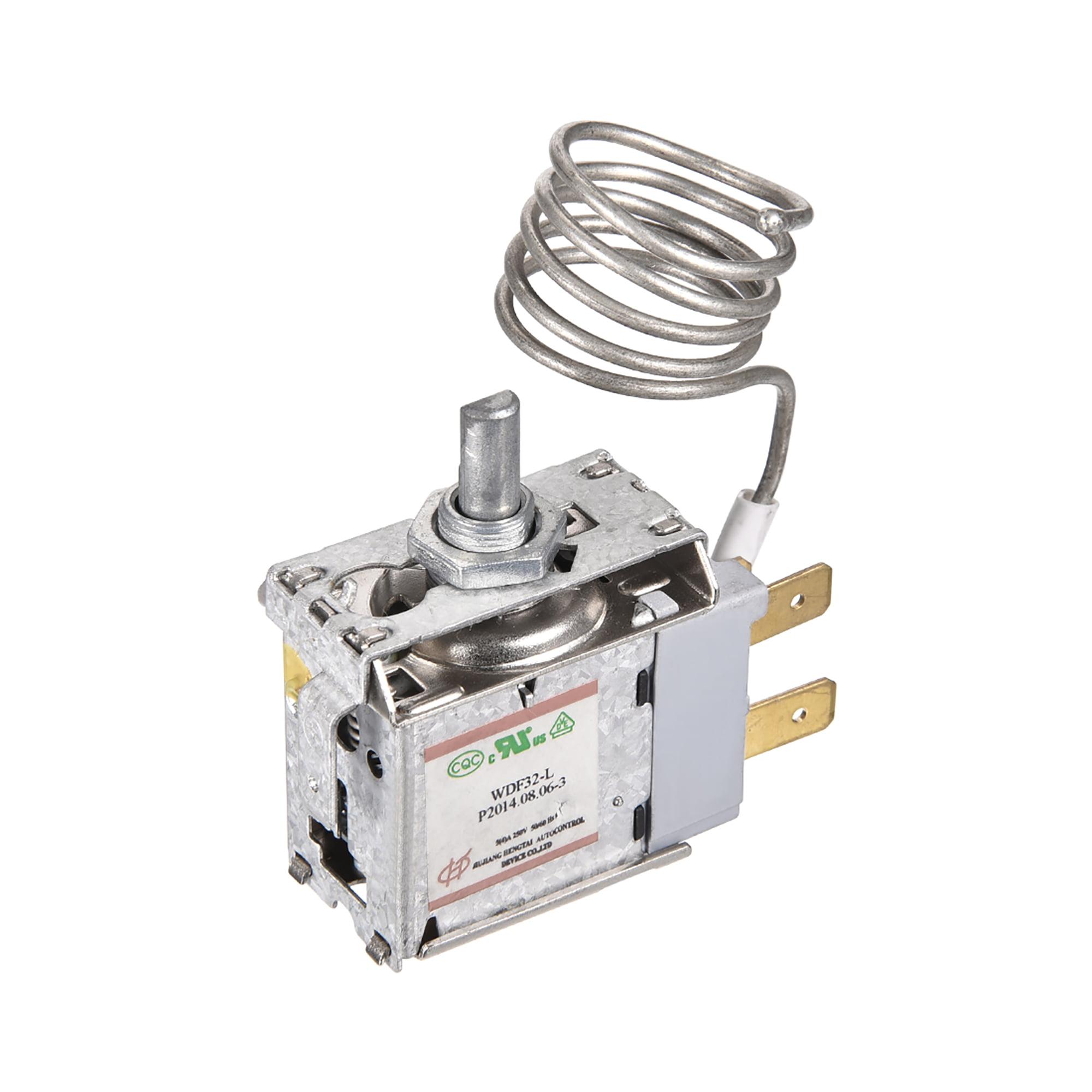 Refrigerator Thermostat Cord Freezer Refrigeration Temperature Controller 3 Pin 5(4)A