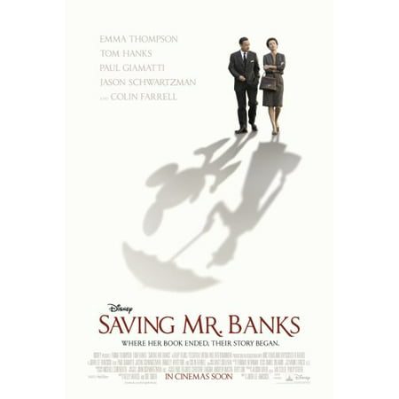 Saving Mr Banks Poster 11Inx17in Wall Art