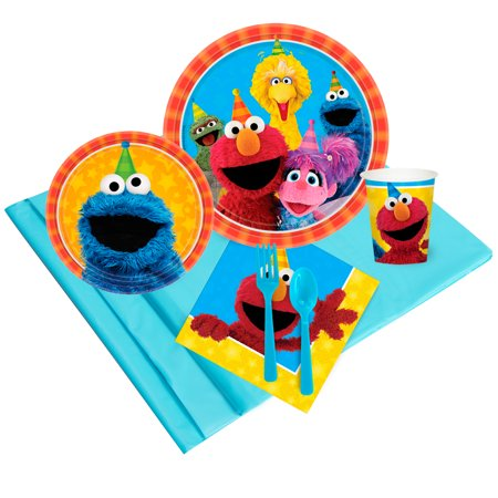 Sesame Street Party Supplies - Party Pack (16)