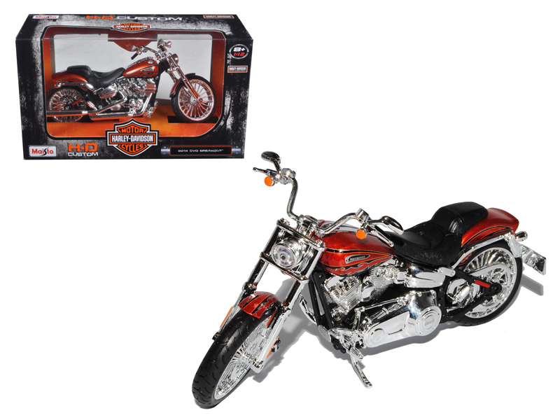 2014 Harley Davidson CVO Breakout Motorcycle Model 1 12 by Maisto by Maisto
