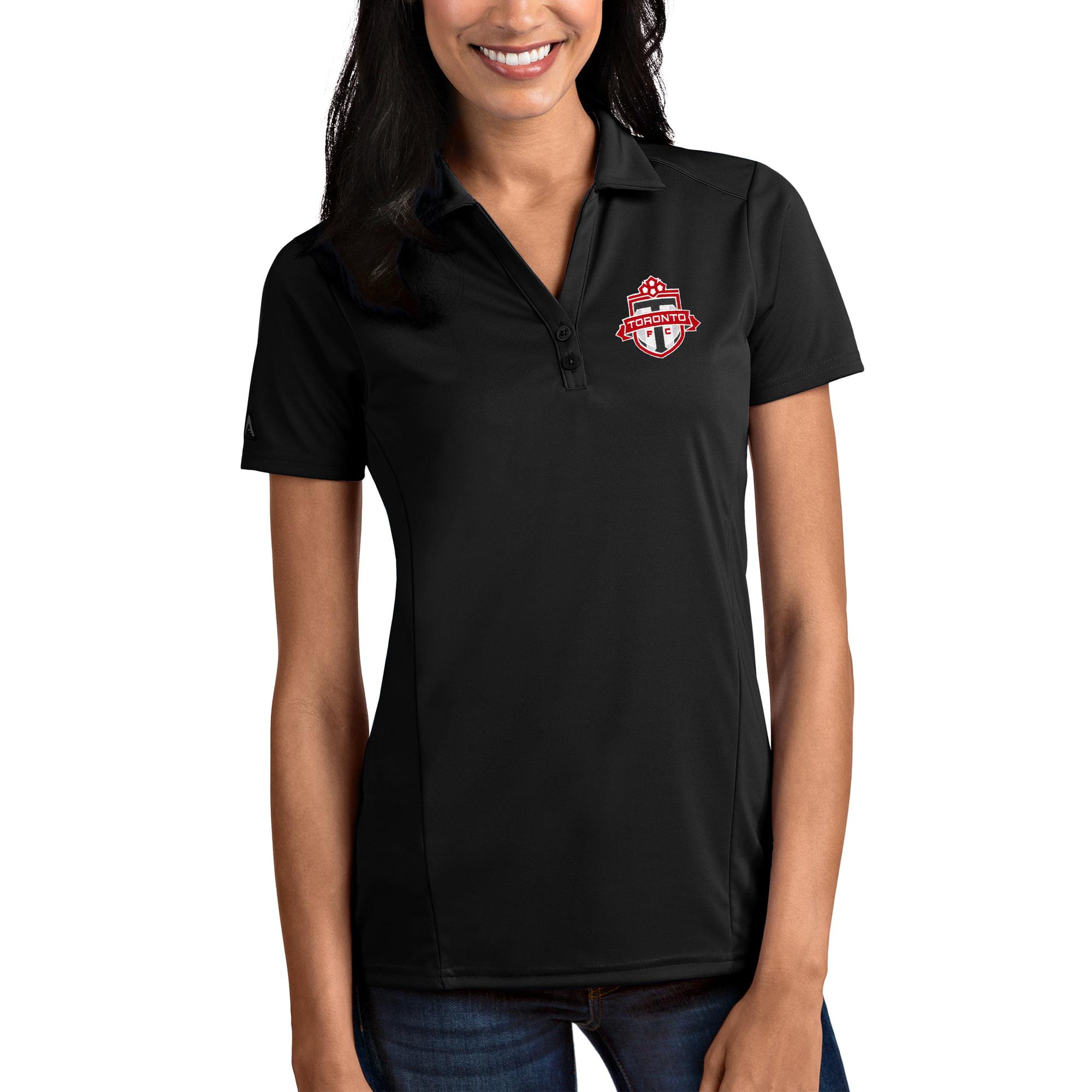 Toronto FC Antigua Women's Black Tribute Polo