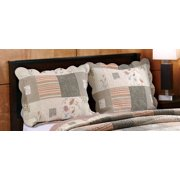 Global Trends Cinnamon Spice Quilted Pillow Sham