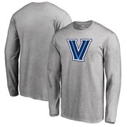 f1db67b4 Villanova Wildcats Big & Tall Primary Logo Long Sleeve T-Shirt - Heather  Gray