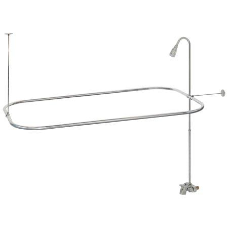Bathcock Type Add-On Shower Unit Clawfoot Tub Shower Unit