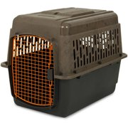 "Ruff Maxx 32"" Kennel for Dogs Weighing 30-50 lbs, Camo/Orange"