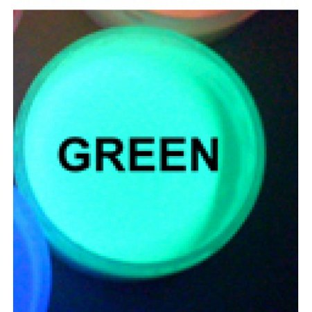 Green UV Reactive Daytime Invisible Neon Paint-2oz