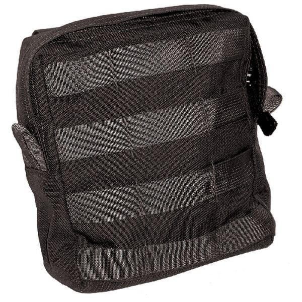 Image of BlackHawk 37CL60BK Black Large Utility Pouch w/ Zipper - MOLLE