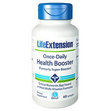 Once-Daily Health Booster Life Extension 60 (Health Booster)