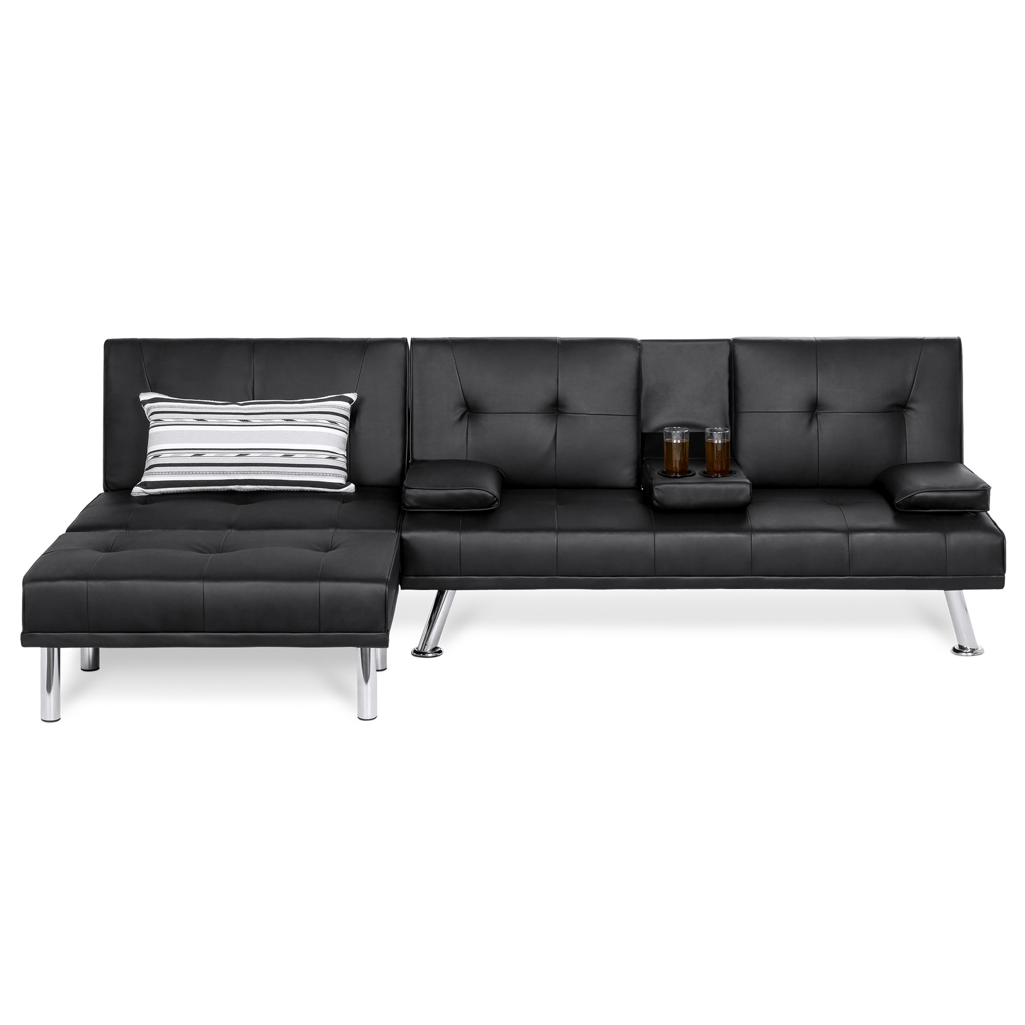 Best Choice Products 3-Piece Modular Modern Living Room Sofa ...