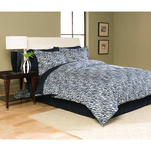 Microfiber Bed in a Bag, Zebra Print