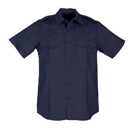 Image of 5.11 TACTICAL Men's PDU S/S Twill Class B Shirt 3X-Large - Tall Midnight Navy