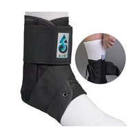 NEW Med Spec ASO Ankle Stabilizer Ankle Brace Black