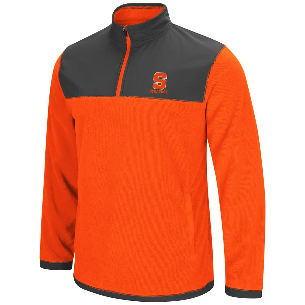Syracuse University Men's Full Zip Fleece Jacket by Colosseum