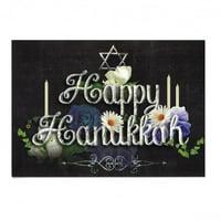 BestPysanky It's Christmas! Set of 2 Happy Hanukkah Greeting Cards