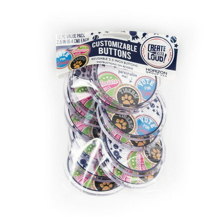 Member Button (Create Out Loud DIY Buttons Pack, 12)