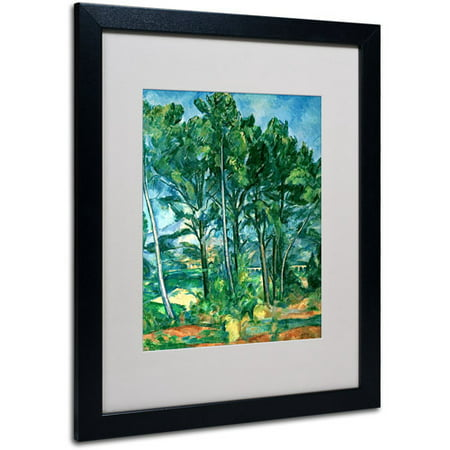 Aqueduct Postcard (Trademark Fine Art 'The Aqueduct' Matted Framed Art by Paul Cezanne )