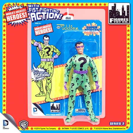 Greatest Toys (Batman World's Greatest Heroes Super Powers Series 2 The Riddler Action Figures)