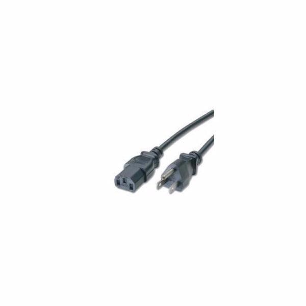 C2g Power Cable - Iec 320 En 60320 C13 (f) - Nema 5-15-p (m) - 6 Ft