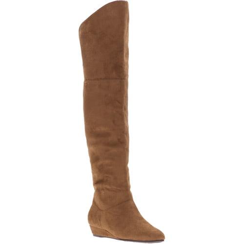 Passports Kristen Over the Knee Wedge Boots