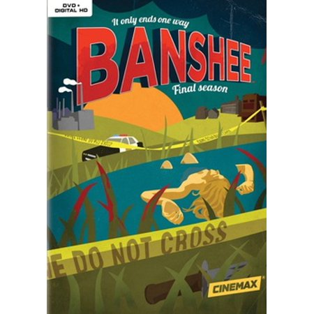 Banshee: The Complete Fourth Season (DVD) - Regular Show Halloween Special Season 4