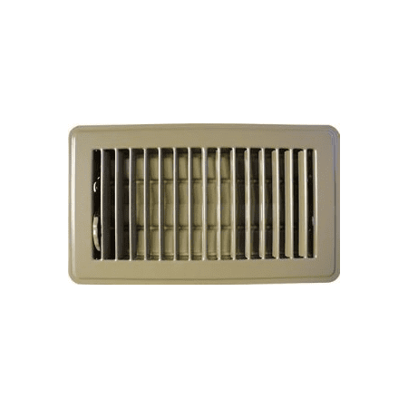 3 x 10 classic brown steel floor register vent cover for 10 x 14 floor register