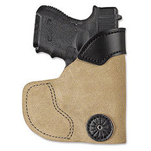 Desantis Pocket-Tuk Pocket Holster, Fits Glock 42, Right Hand, Tan Leather by Desantis Gunhide