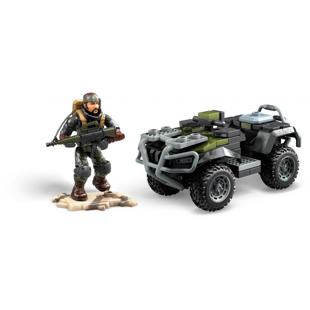 Mega Construx Call of Duty Black Ops 4 ATV Vehicle with Nomad Figure