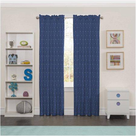 Eclipse Set Sail Print Kids Bedroom Blackout Curtain Panel