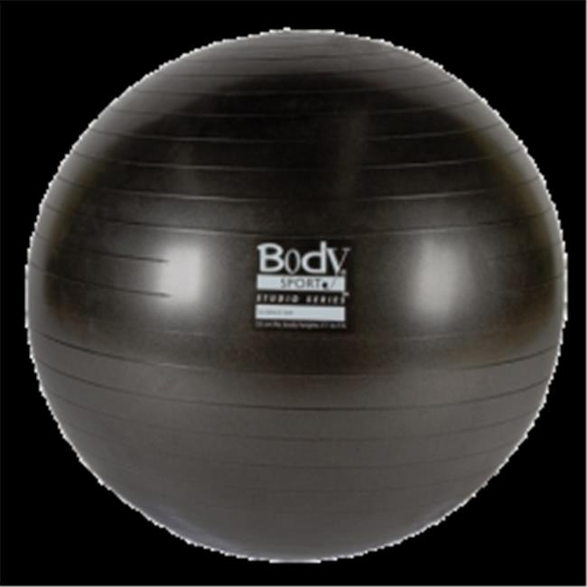 Body Sport BDSBULK55ABCMBLK Studio Series Fitness Ball, 55 Cm