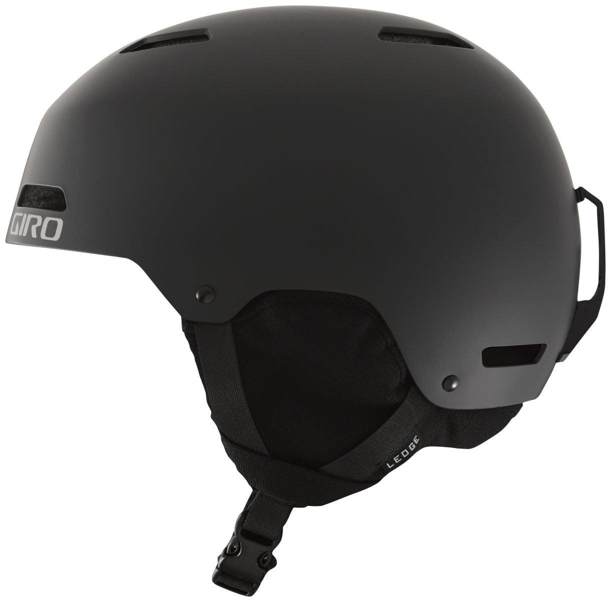 Giro Ledge Snow Helmet Men's Matte Black Large by Giro