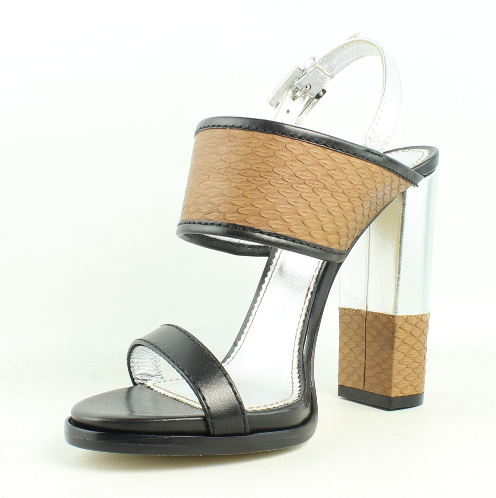 New Dsquared2 Womens Black Sandals Size 6