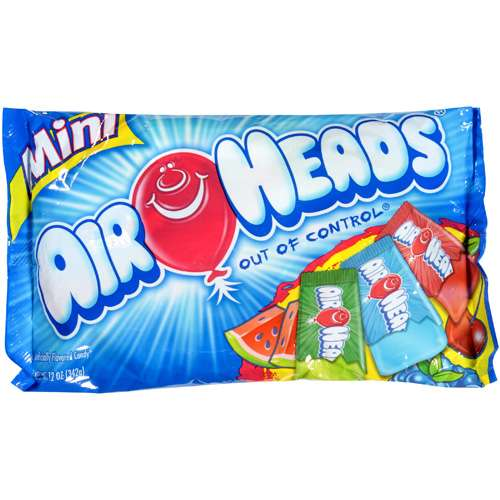 Airheads Halloween Assorted Mini Bars, 12 oz