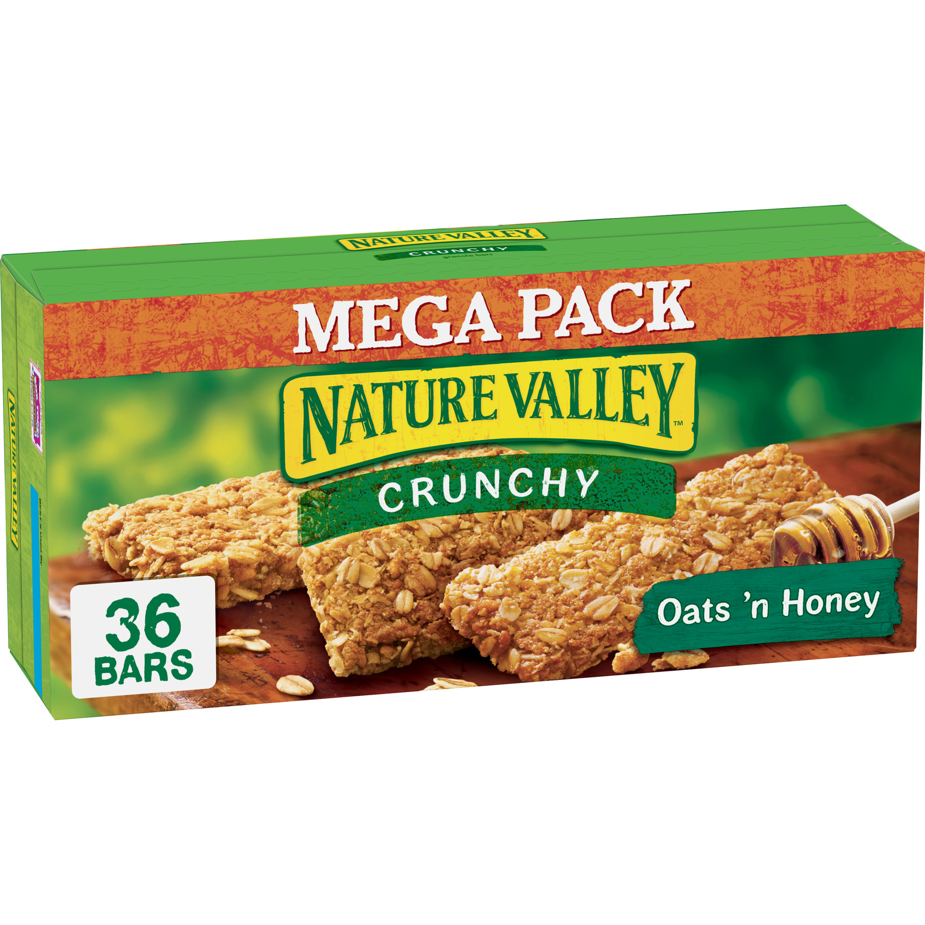 Nature Valley Oats 'N Honey Granola Bars, 36 Ct, 26.82 Oz