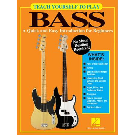 Teach Yourself to Play Bass : A Quick and Easy Introduction for Beginners (Ultimate Beginner Series Rock Bass)