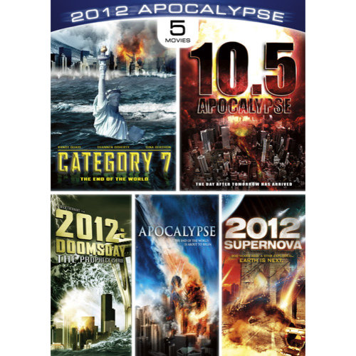 2012 Apocalypse Collection: 2012: Doomsday / 2012: Supernova / Apocalypse / Category 7: The End of the World / 10.5 Apocalypse