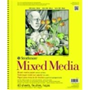 Strathmore 300 Series Acid-Free Medium-Weight Mixed Media Pad, 11 x 14 in.