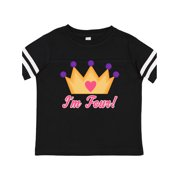 4th Birthday Princess Toddler T-Shirt