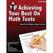 Achieving Your Best on Math Tests